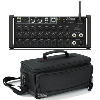 Behringer X Air XR18 18-Input Digital Mixer & Gator Padded Bag Case