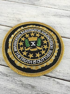 X-Files Division Paranormal Investigator Patch