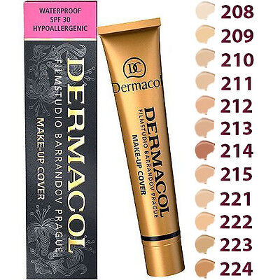 DERMACOL MAKE-UP Cover  30g The Foundation Shade choose your color
