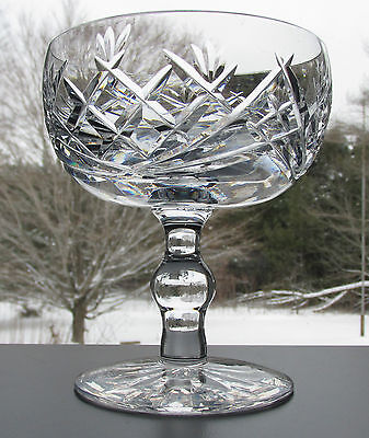 WATERFORD DONEGAL CHAMPAGNE COUPE or GLASS