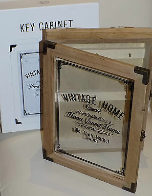 Shabbie Chic Style Key Holder / Box New