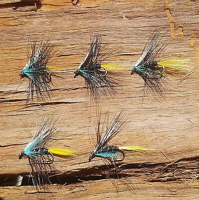 Dry Trout Fly Caddis Hook #12 5 pcs freshwater fly fishing lures