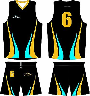 10 Custom sublimation basketball jersey uniform complete set for teams and clubs
