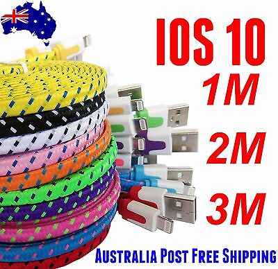 Braided usb data charger cable lead cord for iphone 5 5S 5C 6 Sync plus 6s 8pin