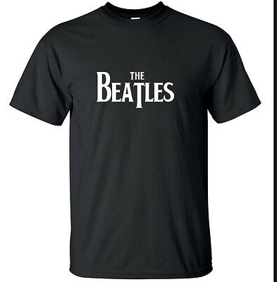The Beatles - Black or White - retro rock music T Shirt Magical (Small - 2XL)