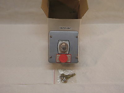 MMTC - 1KX-BC Exterior Tamperproof Open-Close Cylinder Key Switch Surface Mount