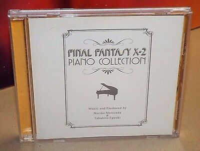 Final Fantasy X-2 Piano Collections (CD, Import,  Rare, Used)