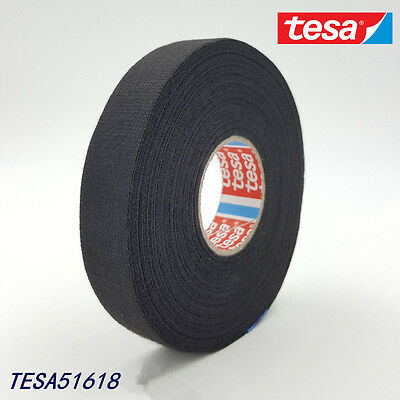 TESA 51618 19mm x 25m, Adhesive Cloth Fabric Tape cable looms,wiring harness