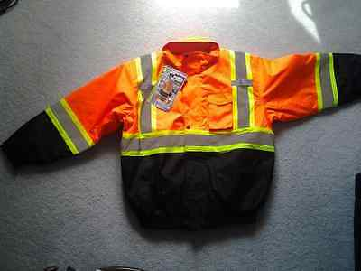 StormFighter Insulated Construction Reflective Jacket