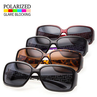 1edf0314ff349 New Polarized Women s Sunglasses Designer Fashion Eyewear Black Brown  Shades Ret