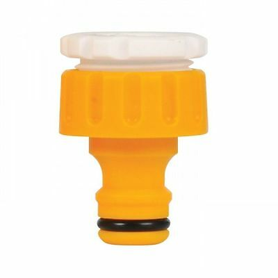 """Hozelock Threaded Outdoor Tap & Hose End Connector 2175 3/4"""" and 1/2"""""""
