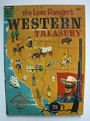 The Lone Ranger's Western Treasury #2 (Aug 1954, Dell) [VG/FN 5.0] Dell Giant