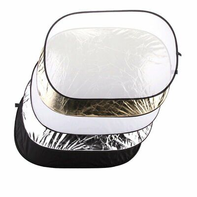 """Godox 5 in 1 Collapsible 32""""x48"""" 80x120 Oval Diffuser Reflector Disc Zipper Bag"""