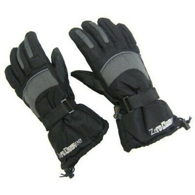 Zero Degree Snow boarding Winter Thinsulate Adult SKI Gloves Pair New  ZE0002