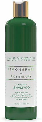 Hair Growth Botanical Renovation Sulfate-Free Lemongrass&Rosemary Shampoo 10.2oz