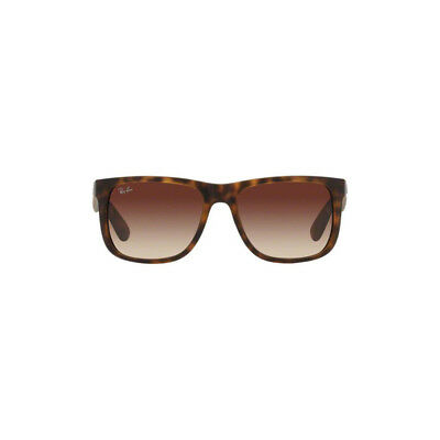 New Ray Ban Justin Sunglasses RB4165 Tortoise 710/13 51mm Brown Gradient UV Lens