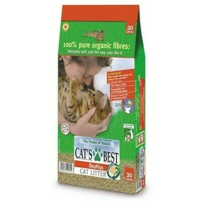 Cat's Best Öko Plus Natural Cat Litter 13kg/30L