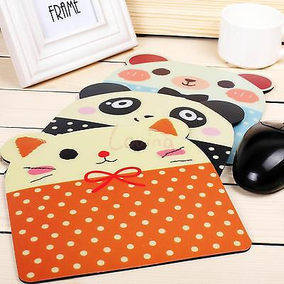 Sweet Dot Panda Cat Animal Designed Mouse Pad Lovable Antiskid Cartoon Mouse Mat