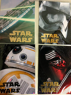 star wars the force awakens all program pamphlets japan limited 12/18,19,20 NEW