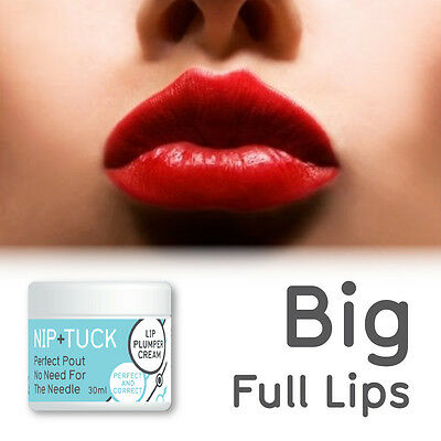 Nip & Tuck Perfect Pout No Need For The Needle Lip Pluming Cream Big Full Lips