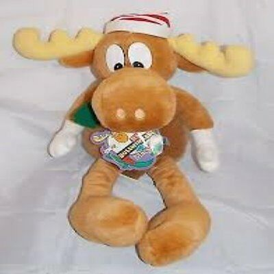 "Macy's Bullwinkle and Rocky Plush, 26 "" TALL  NEW WITH TAGS!"