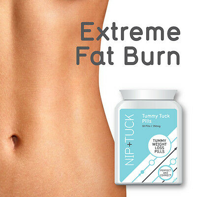 Nip & Tuck Tummy Tuck Pills Tummy Weightloss Pills Slim Thin  Extreme Fat Burn