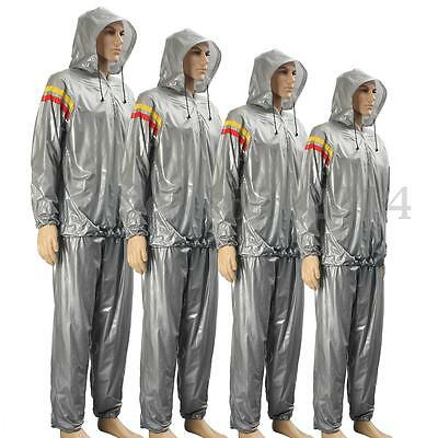 Heavy Duty Sweat Weight Sauna Suit Gym Hat Loss Exercise Anti Rip Fitness
