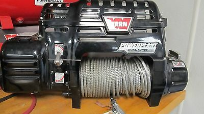 Warn Winch Dual Force Power Plant HP #71800 12 Volt Winch with Air Compressor