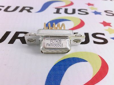 Nssp Fht09S5G1 Fct D-Sub 9 Pin Db9 Right Angle Pcb Solder Female Type Connector