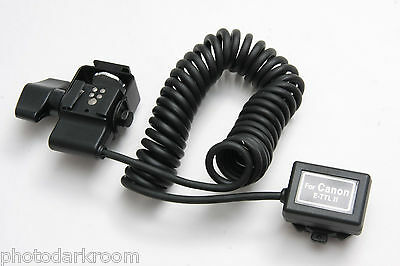 RPS Lighting TTL Cord for Canon eTTL II with Swivel 2M Coiled RS-0440/2 NEW E29
