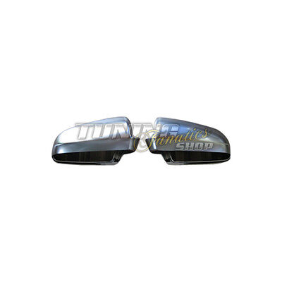 COMPLETE Housing alloy Look Mirror casing Exterior Audi A6 S6 4B C5