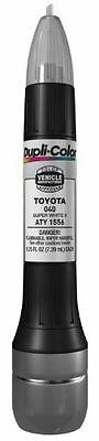 Dupli Color Super White II Toyota Exact Match Scratch Fix Touch Up Paint  0.5 oz