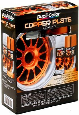 NEW Dupli Color CK100 Copper Plate Coating Kit FREE SHIPPING
