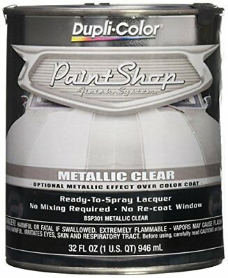 Dupli Color Metallic Clear Coat Paint Shop Finish System Mid Special Effects 32o