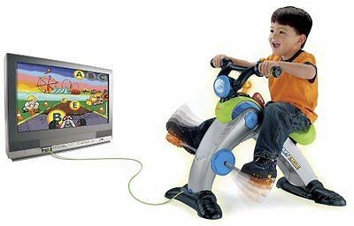 Fisher-Price Smart Cycle with a 3D Racing Game glasses included