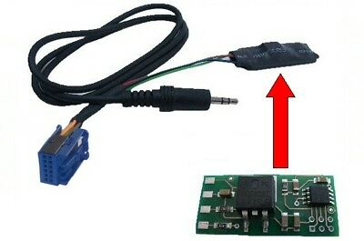 AUX In Adapter INTERFACE MP3 12-Pin CD changer Audi Radio RNS-E BNS 5.0 Delta 6
