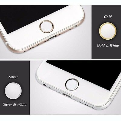 Cool Touch ID Finger Identification Button Sticker Cover for iPhone6/6p 5s Ipad