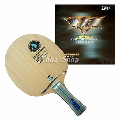 RITC729 C-3 Blade with 2x General Rubbers for a racket