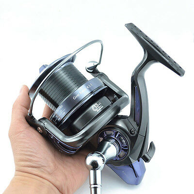 Fishing Reel for Sea Spinning Metal Spool Handle Size 6000 and 9000
