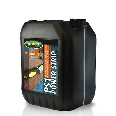 Power Strip Industrial Strength Paint Stripper Remover Extra Strong 5L x 2 = 10L