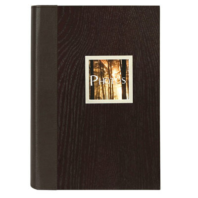 Manhattan Wood Effect Slip In 6x4 Photo Album - 300 Photos