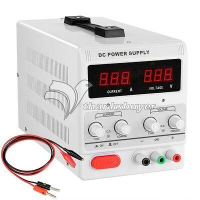 30V 10A 90W Precision Variable Adjustable Digital Regulated DC Power Supply LED