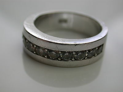 Ring mit 12 Zirkonia Silber 925  s. Oliver