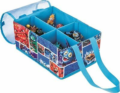 Official Skylanders Fold Away Figure Storage Carry Case - Holds Up to 30 Figures