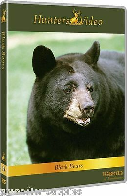 Black Bears Hunters Video Hunting Dvd