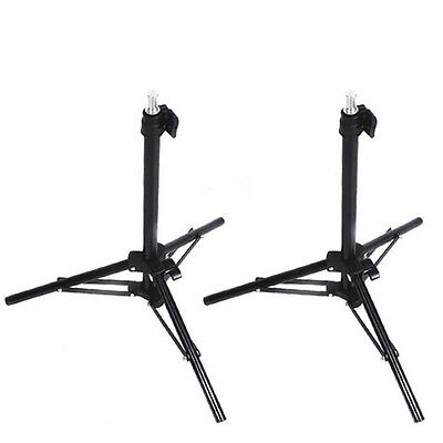 2x Backlight Table Top Photo Mini Light Stand Tripod Support for Studio Lighting