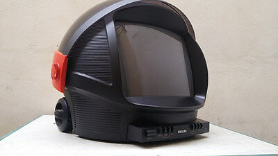 Televisore tv philips discoverer space age modernariato Vintage
