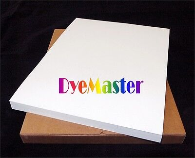 "DyeMaster-R Dye Sublimation Paper for Ricoh/Epson Printer, 8.5 x 11"" Sheets"