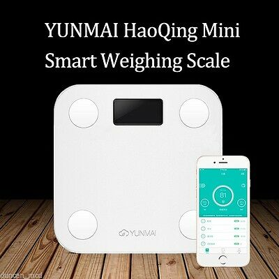 YUNMAI Mini Smart Weight Scale Digital Body Fat Electronic Android IOS Bluetooth
