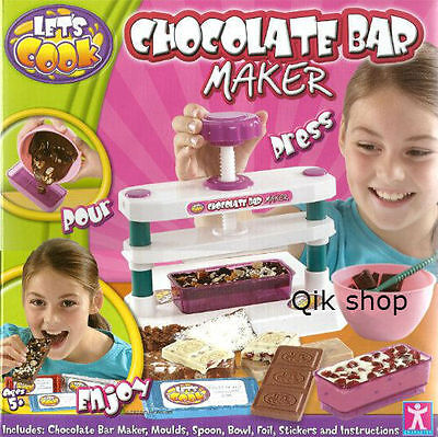 Chocolate Bar Maker Let's Cook RRP £ 16.99